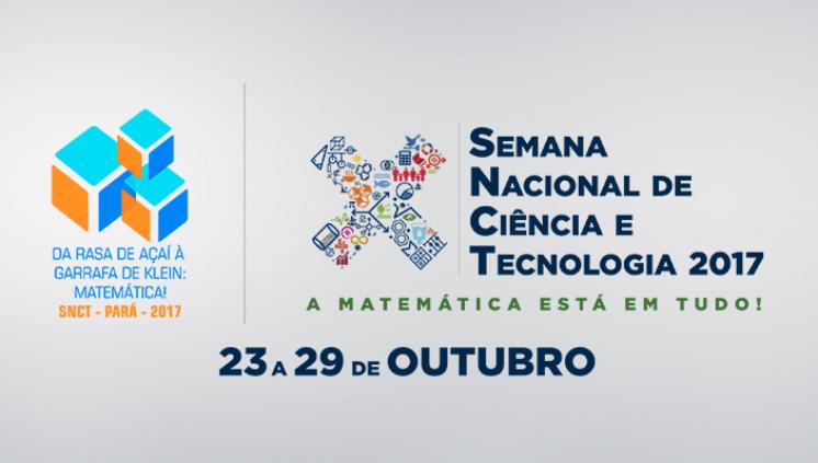 Da rasa de açaí à garrafa de Klein: a Matemática está em tudo durante a Semana Nacional de Ciência e Tecnologia 2017