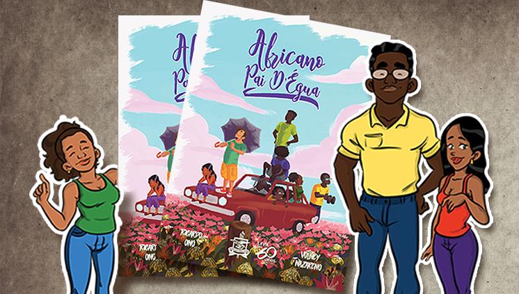 """Casa Brasil-África lança revista em quadrinhos """"Africano Pai d'Égua"""""""