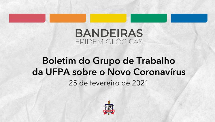 GT da UFPA sobre o Novo Coronavírus mantém a vigência da Bandeira Laranja em todos os campi