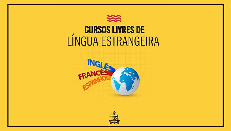 Inscrições abertas para turmas do nível 2 dos Cursos Livres de Língua Estrangeira da UFPA