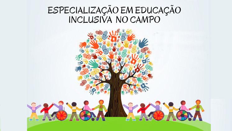 Inscrições abertas para curso de especialização em Educação Inclusiva no Campo