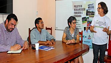 GESTORES Reunião governo do Amapá Prefeitura de Serra Iphan e CRF UFPA