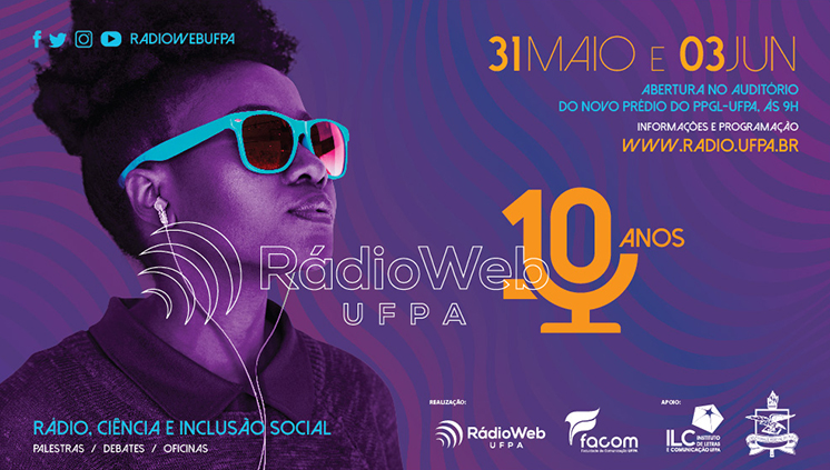 Rádio Web UFPA comemora dez anos com programação especial