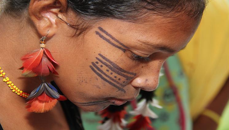 Pinturas corporais indígenas são marcas de identidade cultural
