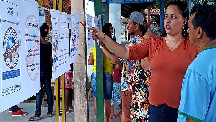 """UFPA e governo do Pará apresentam projeto """"Meu Endereço"""" para moradores de Marituba"""