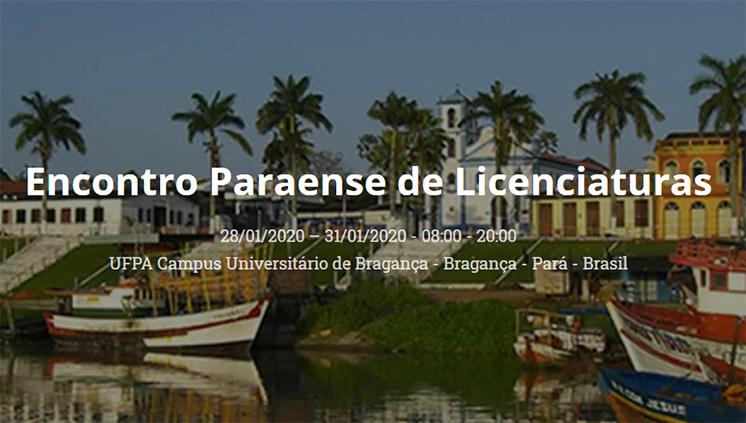 Encontro Paraense de Licenciaturas recebe submissão de trabalhos