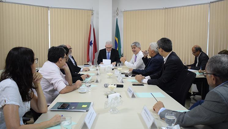 SECTET recebe a primeira reunião do Fórum de Instituições de Ensino Superior e Pesquisa do Pará de 2019