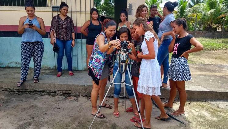 NUMA realiza oficina de fotoetnografia em RESEX de São Caetano de Odivelas