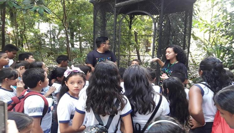 Estudantes da UFPA proporcionam visitas guiadas ao Museu Emílio Goeldi