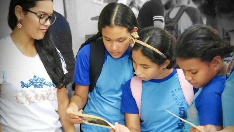Projeto de Extensão da UFPA leva educação patrimonial para escolas de Belém