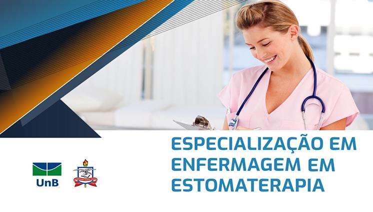 UFPA e UnB ofertam Especialização de Enfermagem em Estomaterapia