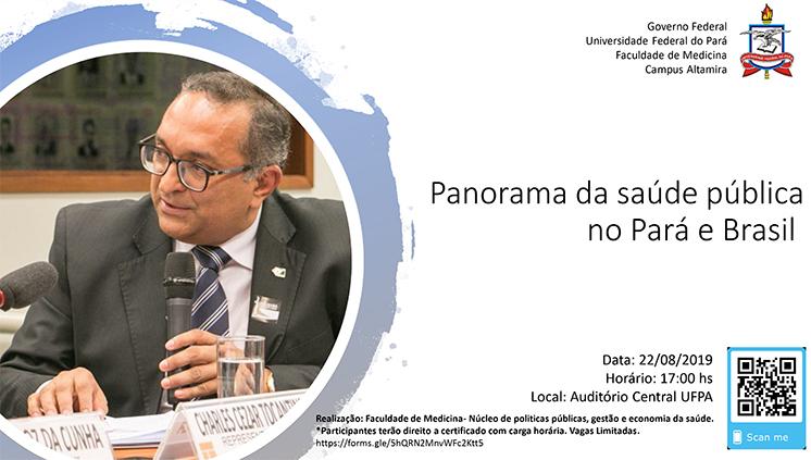 Faculdade de Medicina do Campus de Altamira debate o panorama da saúde pública