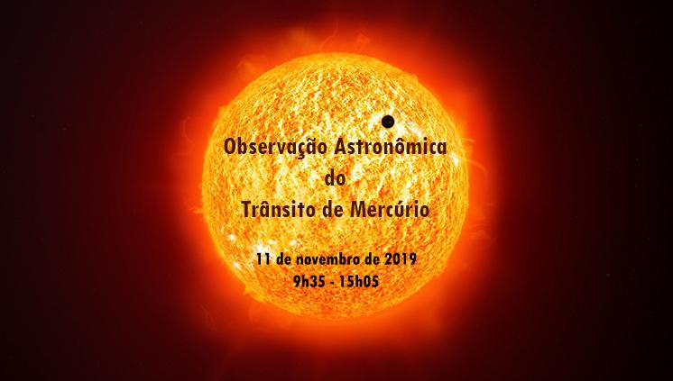 Núcleo de Astronomia da UFPA promove observação do trânsito de Mercúrio nesta segunda-feira, 11