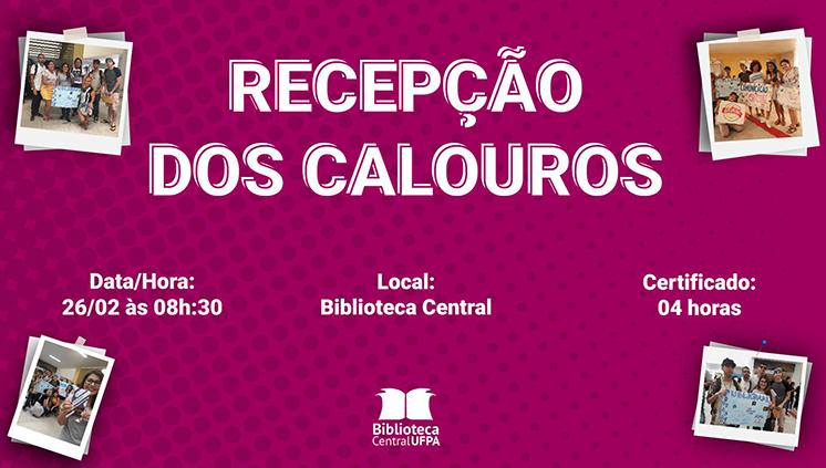 Biblioteca Central prepara recepção dos calouros 2019