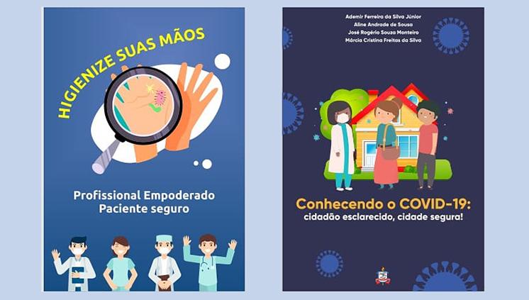 Cartilhas digitais orientam população e profissionais de saúde sobre cuidados no combate ao novo coronavírus