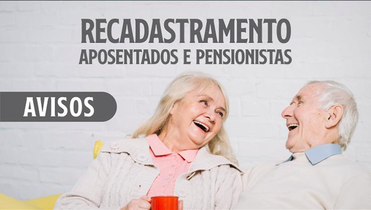 Prova de Vida de servidores aposentados e pensionistas é suspensa até 31 de janeiro