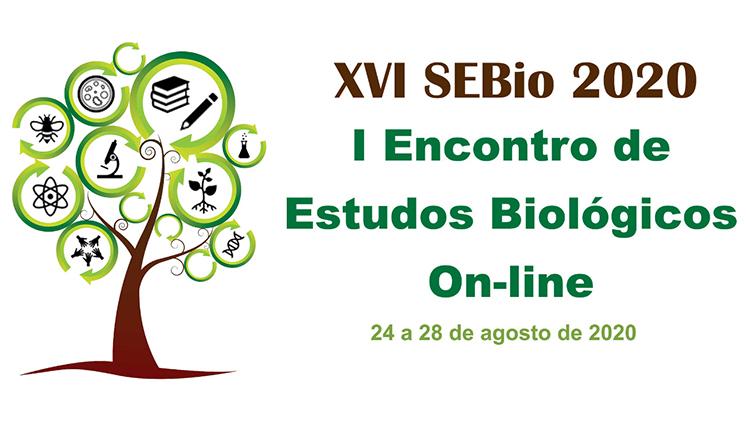 XVI Semana de Estudos Biológicos irá reunir pesquisas de todo o Brasil em edição virtual