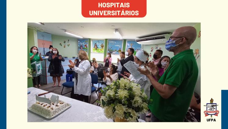 Cerimônia marca os 28 anos do Hospital Universitário Bettina Ferro de Souza