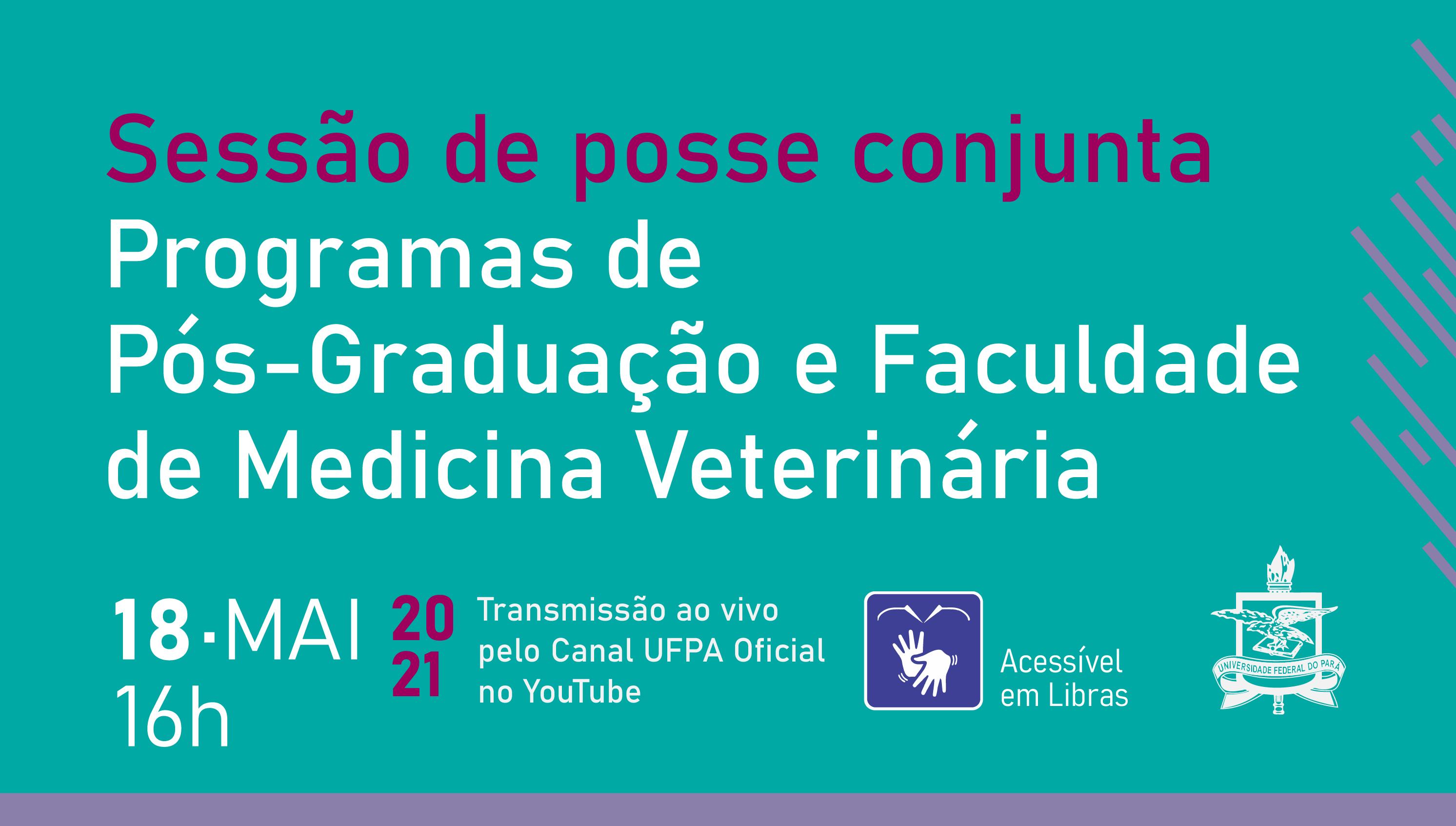 Posse conjunta de dirigentes do Instituto de Medicina Veterinária ocorre nesta terça, 18 de maio