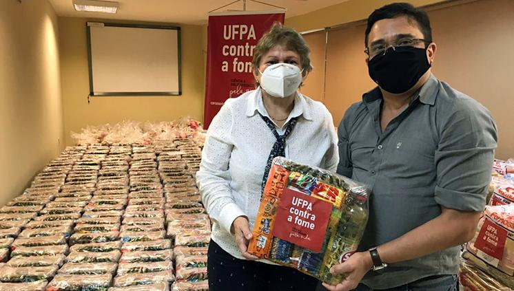 Instituto de Ciências da Saúde se mobiliza e faz doação à Campanha UFPA contra a fome