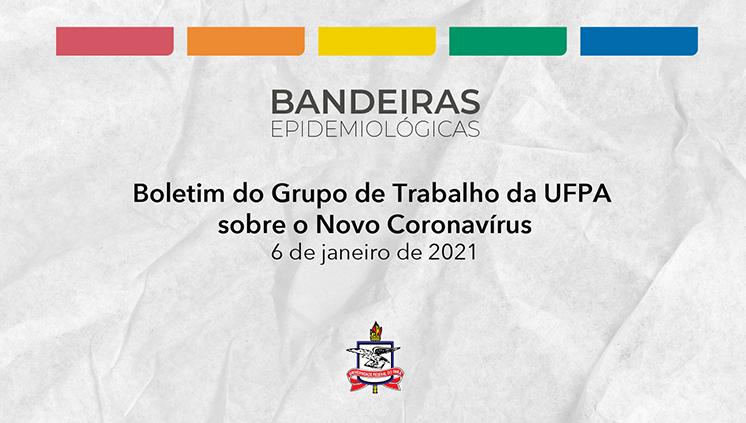 GT da UFPA sobre o Novo Coronavírus informa atualização das bandeiras epidemiológicas vigentes nos campi