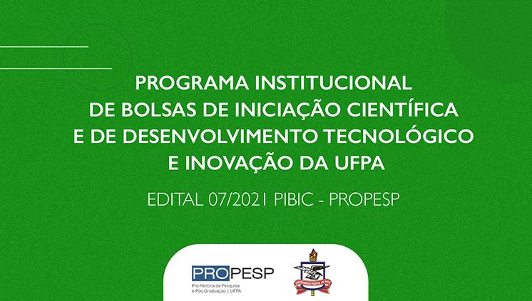 Programa Institucional de Bolsas de Iniciação Científica e de Desenvolvimento Tecnológico e Inovação recebe submissões até o dia 16 de maio