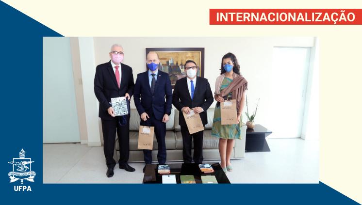 UFPA recebe a visita da comitiva da Embaixada da República da Finlândia no Brasil