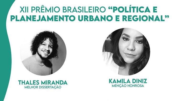 Pesquisas realizadas na UFPA se destacam no XII Prêmio Brasileiro Política e Planejamento Urbano e Regional de Dissertações de Mestrado