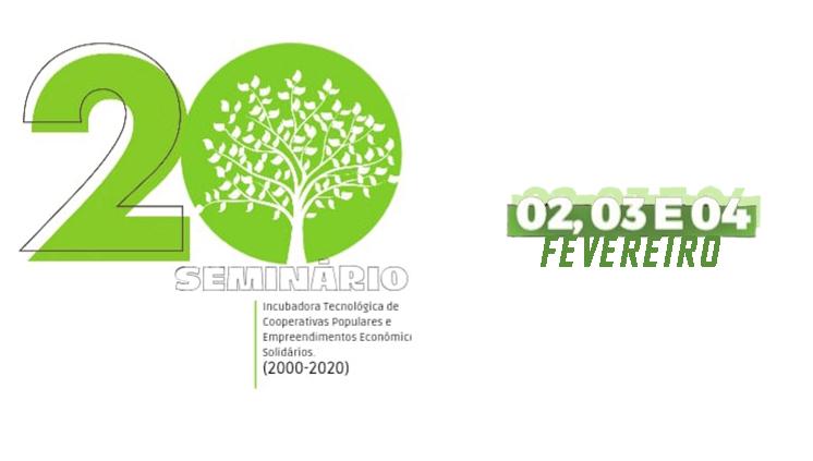 Incubadora Tecnológica de Cooperativas Populares e Empreendimentos Econômicos Solidários realiza seminário comemorativo de 20 anos