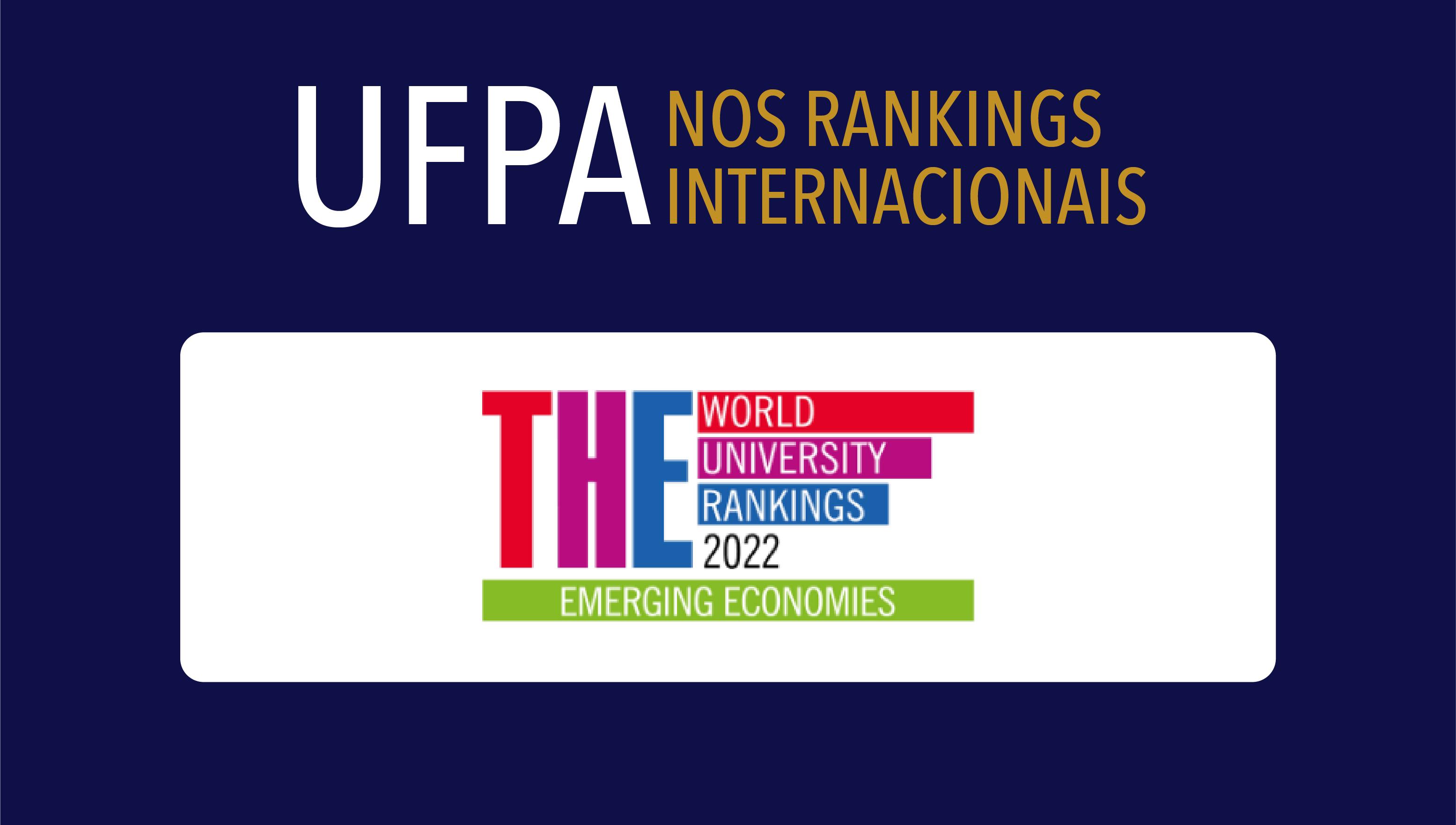 UFPA está entre as melhores universidades das Economias Emergentes