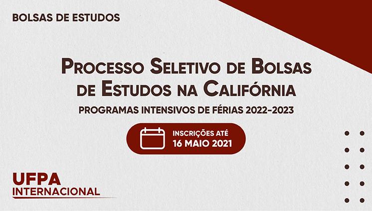 Inscrições abertas para programa de bolsas parciais de estudos na Califórnia
