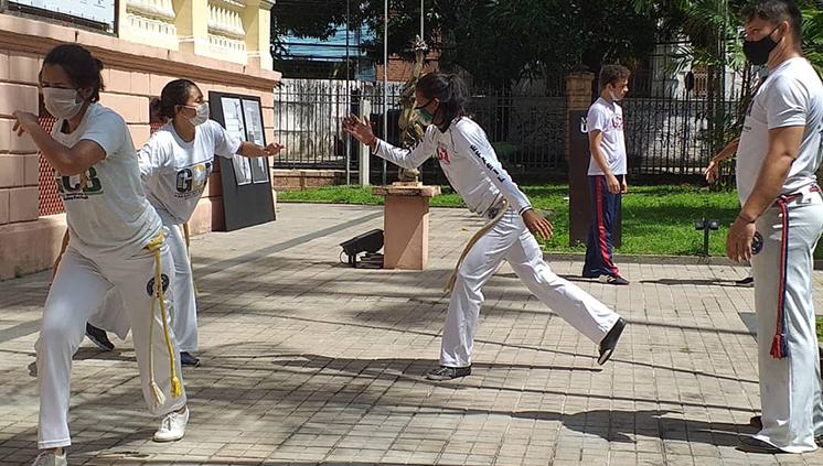 Museu da UFPA volta a sediar aulas de capoeira aos sábados