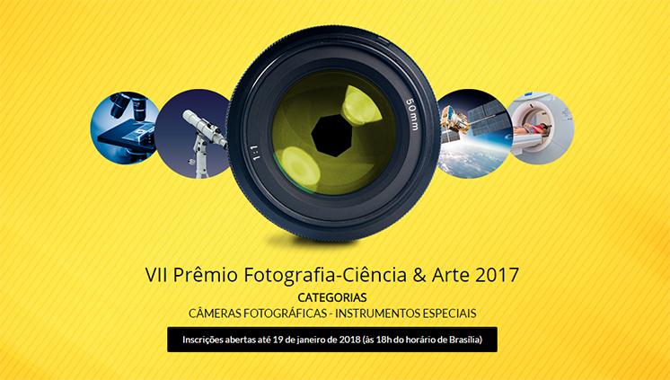 Inscrições para o VII Prêmio de Fotografia-Ciência & Arte encerram-se nesta sexta-feira, 19