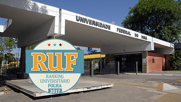 UFPA é a melhor Universidade do Norte do País, segundo ranking universitário da Folha