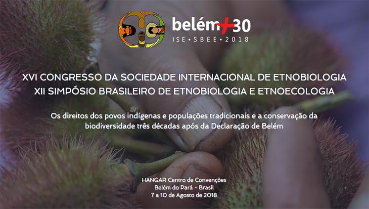 Submissão de trabalhos para o XVI Congresso da Sociedade Internacional de Etnobiologia vai até 31 de janeiro