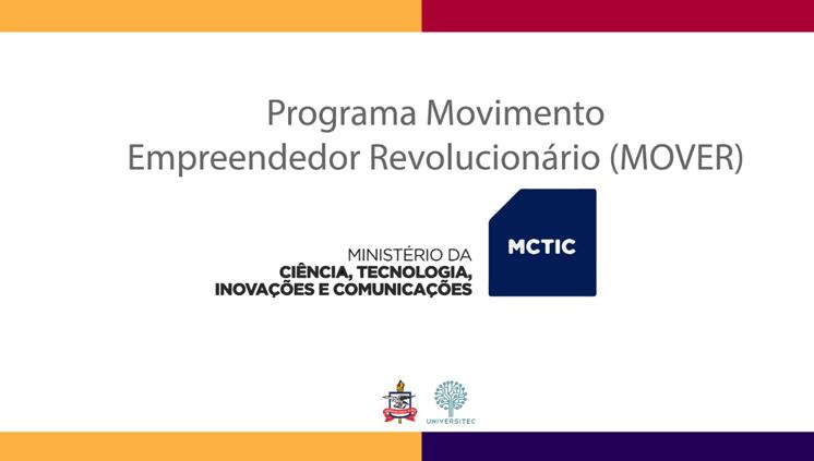 Inscrições abertas para o MOVER, programa do MCTIC que seleciona projetos inovadores