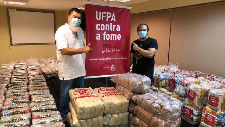 INEAF doa 500 quilos de alimentos produzidos na agricultura familiar para a Campanha UFPA contra a Fome