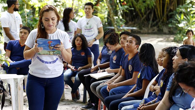 Contação de histórias e leitura são destaques desta sexta, 21, na UFPA