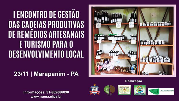 Marapanim sedia o I Encontro de gestão das cadeias produtivas de remédios artesanais e turismo