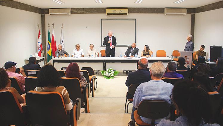 Novos dirigentes da Faculdade de Arquitetura e Urbanismo da UFPA tomam posse