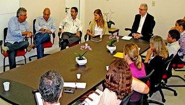 CONHECIMENTO André Montenegro fala em reunião com gestores do MC e reitor da UFPA