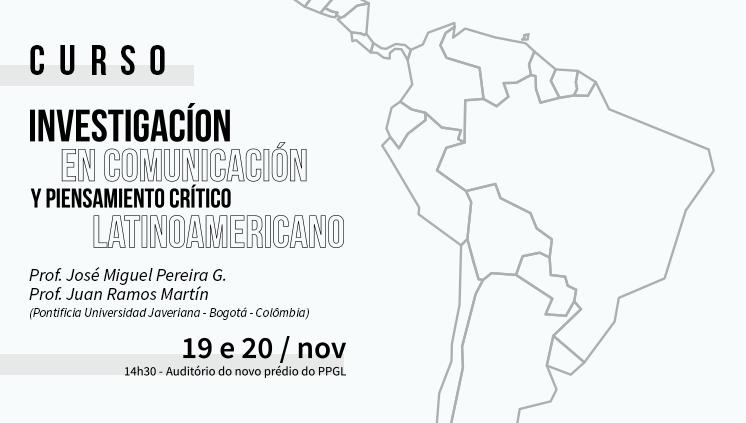 Internacionalização: PPGCom recebe professores da Colômbia para discutir a pesquisa em Comunicação
