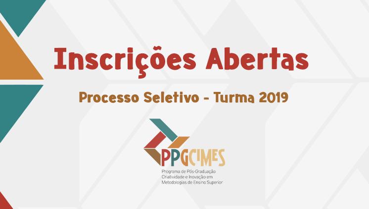 Inscrições abertas para o Processo Seletivo da Turma 2019 do PPGCIMES-UFPA