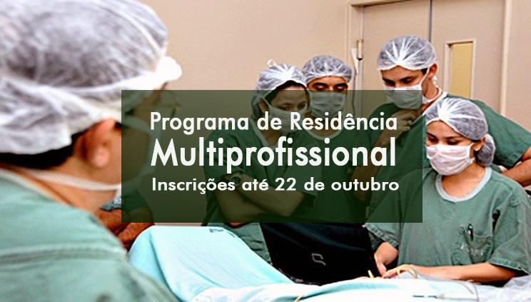 Processo Seletivo para Residência Multiprofissional da UFPA inicia período de inscrições