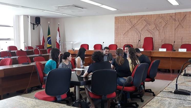 UFPA recebe comissão de candidatos e explica distribuição de vagas no PS 2019