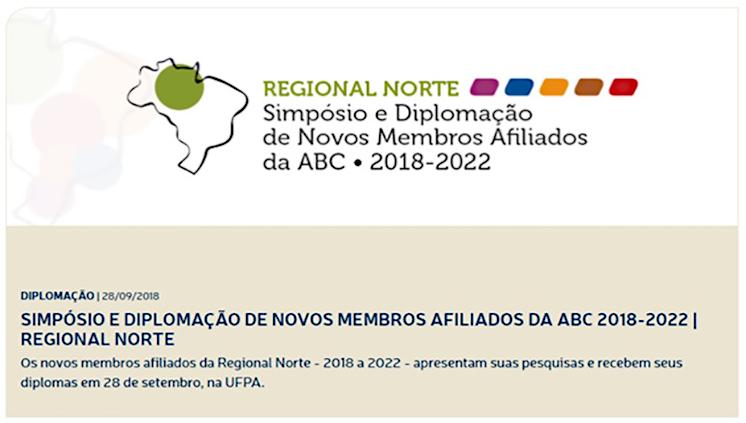 Academia Brasileira de Ciências promove evento na UFPA para diplomação de novos membros