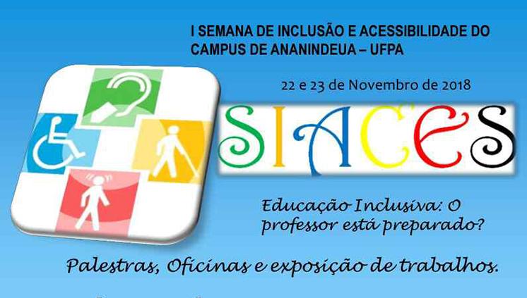 Evento no Campus de Ananindeua debate educação inclusiva e acessibilidade