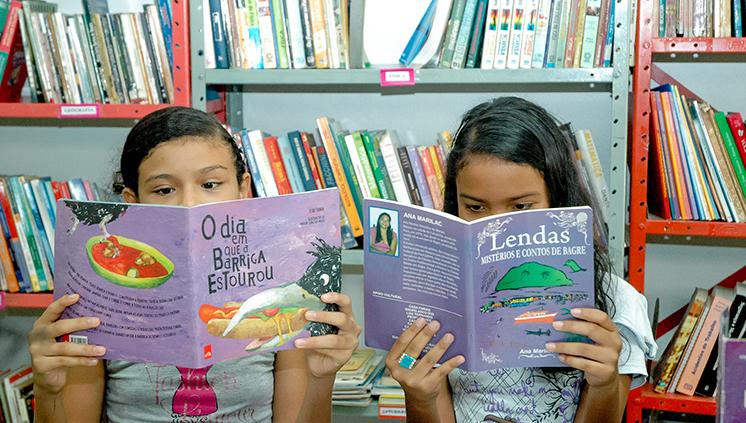 Projeto Nossa Biblioteca ensina cidadania a crianças e a adolescentes por meio da leitura